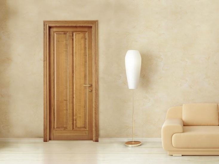 Porte In Legno Massello : Vendita di porte da interni laminate in legno massello e anche grezze
